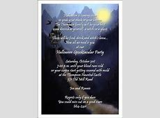 Halloween Invitation Wording Adults Only – Festival