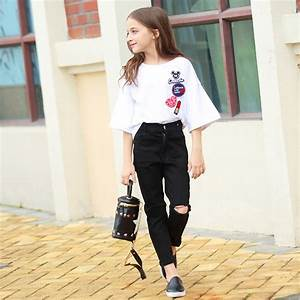 Kids Clothes 2017 Fashion Flare Sleeve Summer Style Teen ...