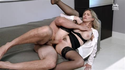 Hot Office MILF Seduced Into Anal By Her Well Hung Boss