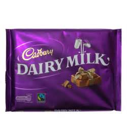 christmas gift bags cadbury dairy milk 360g groceries chocolate b m