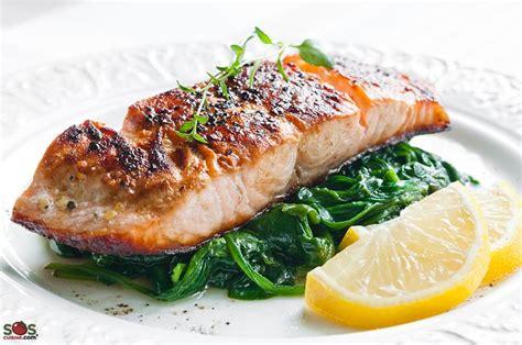 3 fr midi en recettes de cuisine filet de saumon au four une recette soscuisine
