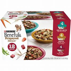 purina beneful prepared meals variety pack wet dog food With prepared dog food