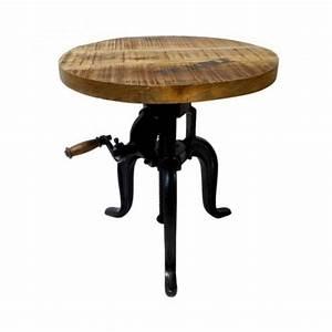 Table Basse Reglable Hauteur : table basse industrielle 31 id es pour votre salon ~ Teatrodelosmanantiales.com Idées de Décoration