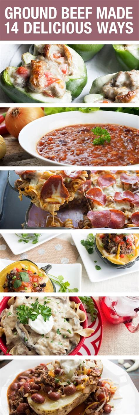ground beef ideas for dinner great recipe ideas for dinners healthy dinners pinterest natural turkey and beef recipes