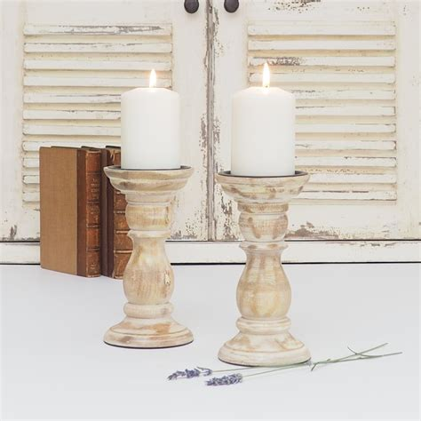 white wooden candle holders white distressed wooden candle holder zaza homes