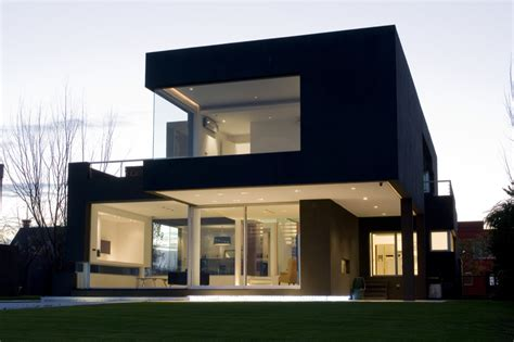 house design architecture the black house by andres remy arquitectos architecture