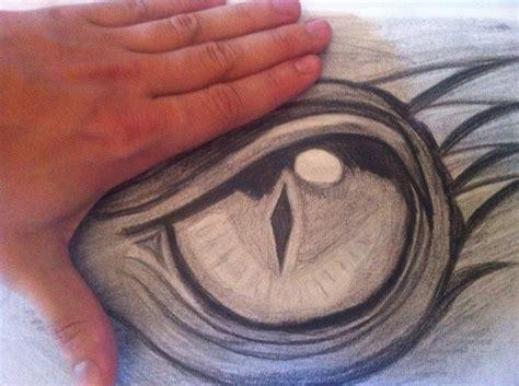 drawing   reptile eye  jwshadezart  deviantart