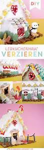 Lebkuchenhaus Selber Machen : regenbogen lebkuchenhaus dekorieren anleitung mit vielen ~ Watch28wear.com Haus und Dekorationen