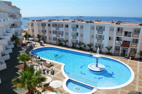tropical garden apartments figueretes ibiza   beach