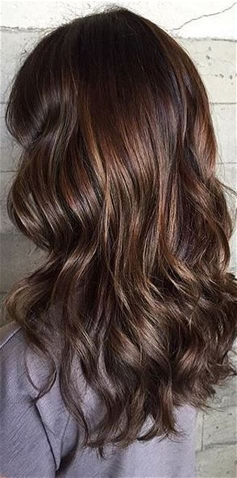 Espresso Hair Color With Caramel Highlights by 25 Best Ideas About Espresso Hair Color On