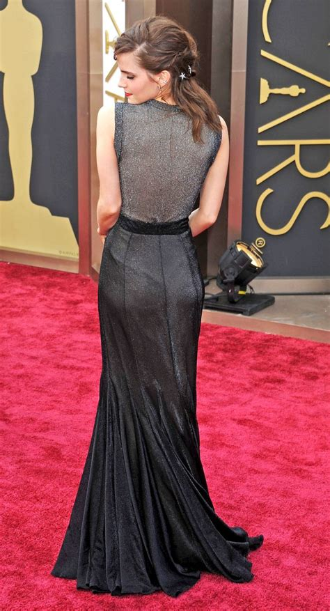 The Back Dress Emma Watson Body