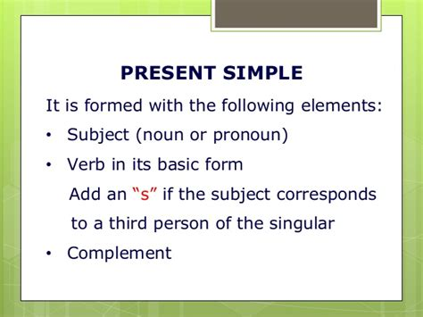 Present Progressive And Present Simple Pp Presentation