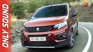 Peugeot Rifter 2018 : new peugeot rifter 2018 first test drive only sound youtube ~ Medecine-chirurgie-esthetiques.com Avis de Voitures