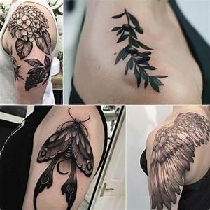 Best Shoulder Tattoos For Men and Women - Shoulder Tattoo ...