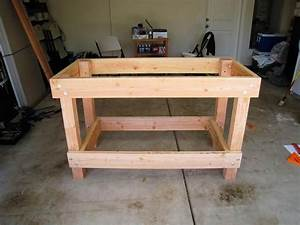 Diy Garage Workbench Ideas BEST HOUSE DESIGN : Cool Garage
