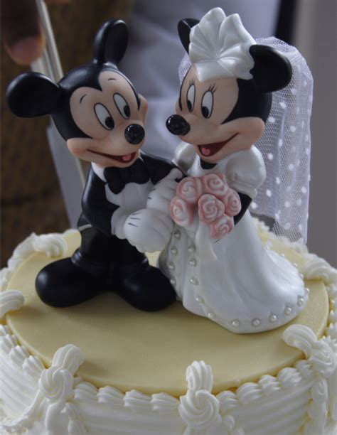 mickey mouse disney wedding cake topper photospng