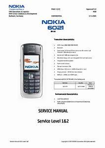 Nokia 6021 Service Manual Download  Schematics  Eeprom