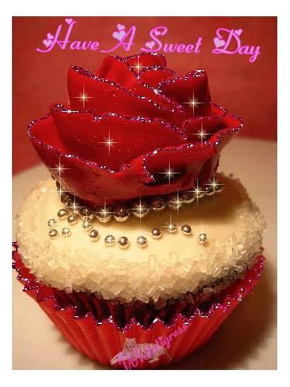 Sweet Hugs Rose Cupcakes Morning Kisses Friend