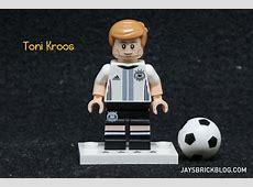 Review LEGO German Football Team Minifigures