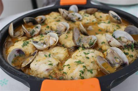 receta pescado al horno  almejas locos  la parrilla