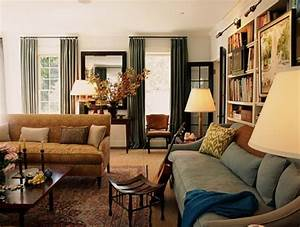 Blending The Traditional And Modern Living Room Design