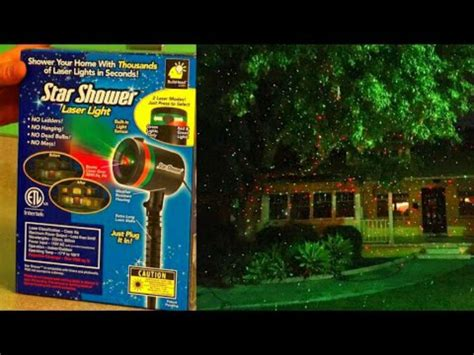 star shower christmas lights battery brand new shower outdoor laser lights projector as seen on tv ebay