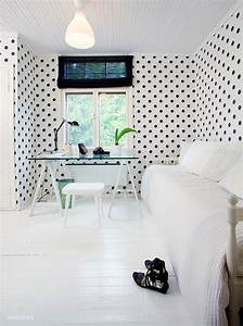 Another Cute Idea: Polka Dots wallpaper // Още една ...