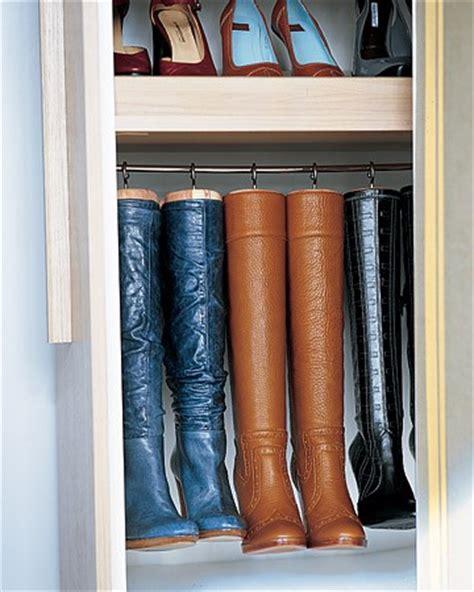 boot rack ideas transitional closet martha stewart