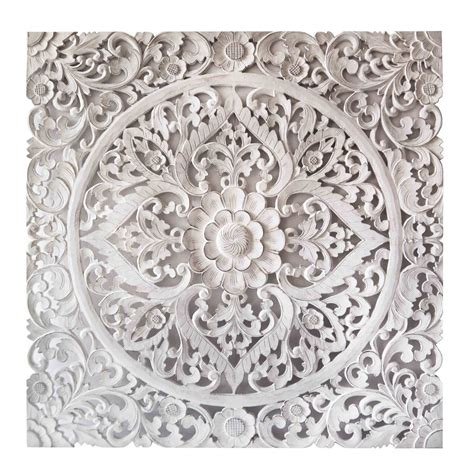 Buy Balinese Hand Carved Mdf Decorative Panel Online