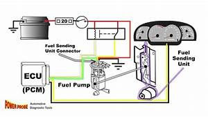 Porsche Fuel Pump Diagram