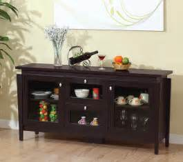 kitchen buffets furniture furniture of america cedric modern buffet espresso buffet table espresso