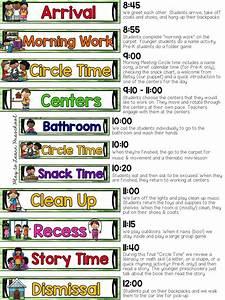 sample half day preschool schedule plus tips for creating With preschool classroom schedule template
