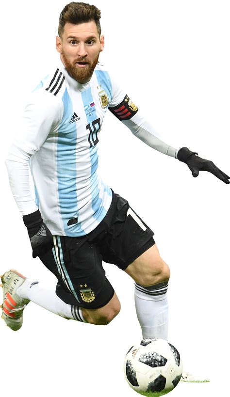 Lionel Messi render (Argentina). View and download ...