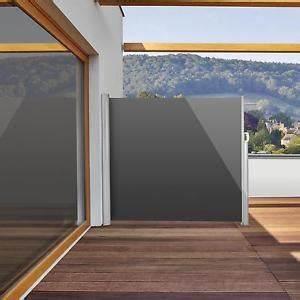 neu seitenmarkise 300x160cm balkon sichtschutz With markise balkon mit tapeten bei ebay