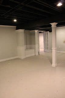 ideas  basement ceiling painted  pinterest painting concrete walls exposed