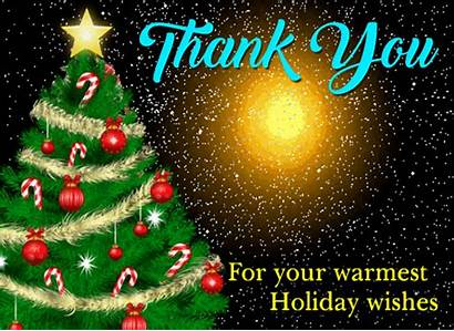 Card Thank Holiday Greetings Cards Season Friends
