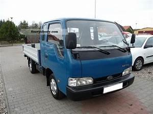Kia   K2700 Skrzynia Doka 1999 Stake Body Truck Photo And