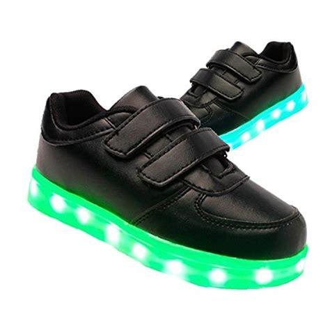 free light up shoes iturbostm mini nova kids usb charging light up led shoes