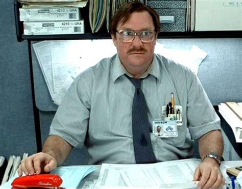 Office Space Stapler Meme - lemmings fitness trainers bosses and me contemplative fitness