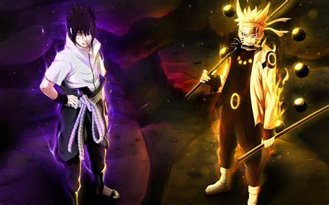 Wallpaper Naruto Uzumaki, Sasuke Uchiha, Anime, #7052