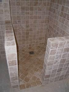 Carrelage De Douche : douche salle de bains thierry andr oni carrelage en ~ Edinachiropracticcenter.com Idées de Décoration