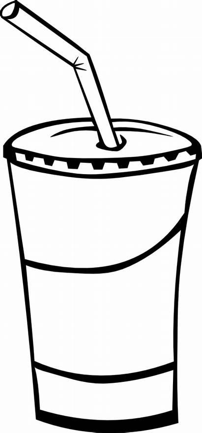 Clip Drink Drinks Fast Soda Fountain Menu