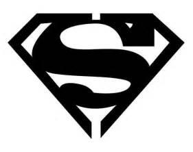 Tribal Superman Symbol Tattoo