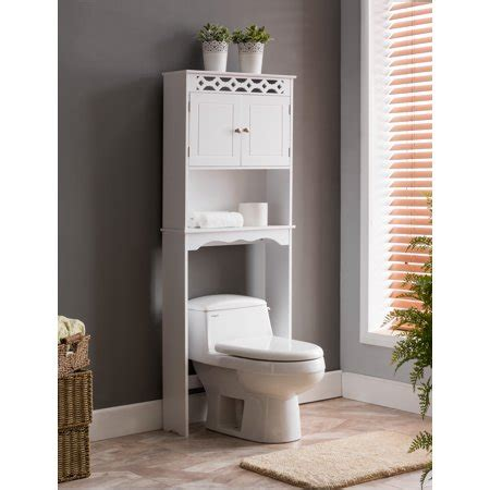 Wood Bathroom Etagere by Tosia White Wood Contemporary The Toilet Etagere
