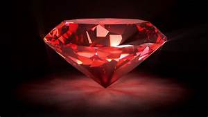 Red Spinning Shiny Diamond - Diamond 02 (HD) - Motion ...
