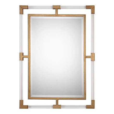 Uttermost Mirrors - balkan modern gold wall mirror uttermost wall mirror wall