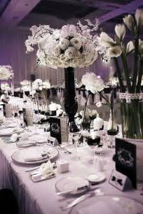 black and wedding ideas black and white wedding centerpieces wedding stuff ideas