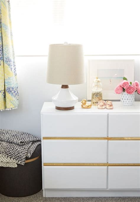 Malm Kommode Bekleben by How To Incorporate Ikea Malm Dresser Into Your Decor
