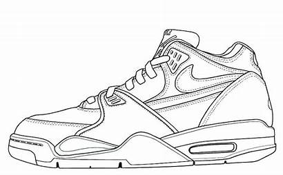 Converse Coloring Shoe Pages Shoes Printable Getcolorings
