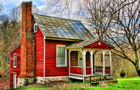 Little Country House  A Little Old Country House On A